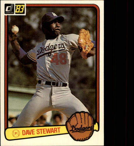 Photo of 1983 Donruss #588 Dave Stewart