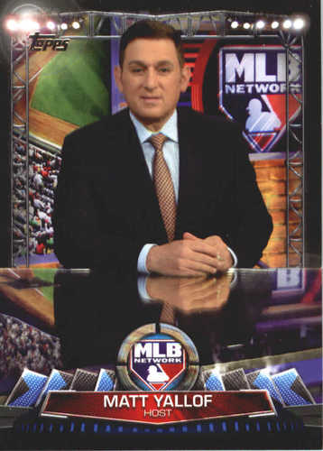 Photo of 2017 Topps MLB Network #MLBN21 Matt Yallof