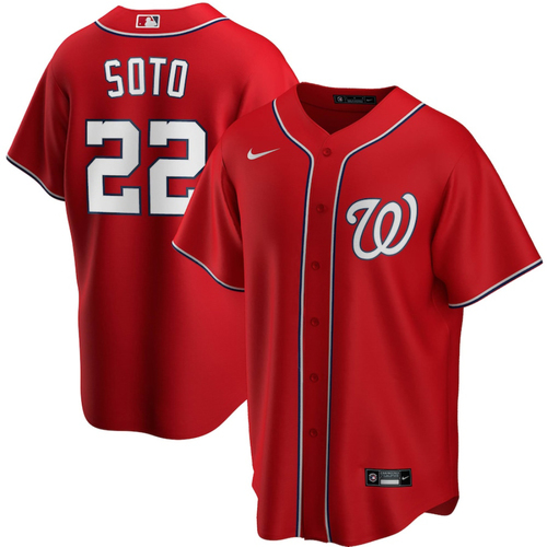 Photo of NATS4GOOD Community Response Fund Auction: Juan Soto Signed (with Personalization) Jersey