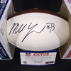 NFL - Ravens Marshal Yanda Signed Panel Ball