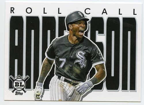 Photo of 2020 Topps Big League Roll Call #RC15 Tim Anderson