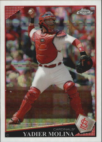 Photo of 2009 Topps Chrome #50 Yadier Molina