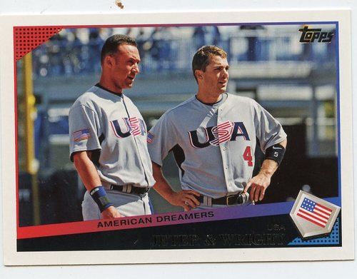 Photo of 2009 Topps Update #UH17 Derek Jeter/David Wright
