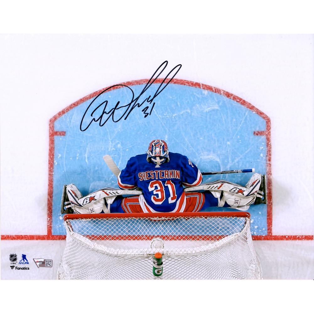Igor Shesterkin New York Rangers Autographed 11