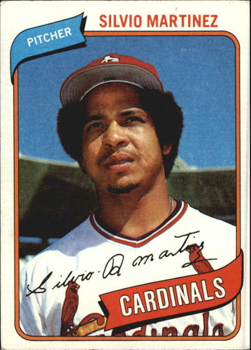 Photo of 1980 Topps #496 Silvio Martinez
