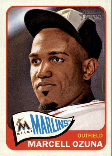 Photo of 2014 Topps Heritage #112 Marcell Ozuna