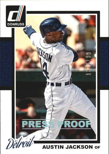 Photo of 2014 Donruss Press Proofs Silver #293 Austin Jackson