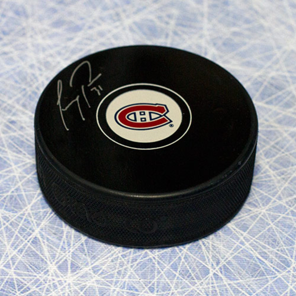 Carey Price Montreal Canadiens Autographed Hockey Puck