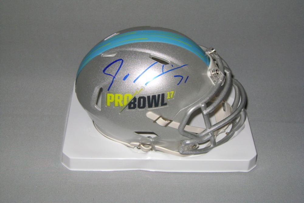 NFL - BEARS JOSH SITTON SIGNED 2017 PRO BOWL MINI HELMET