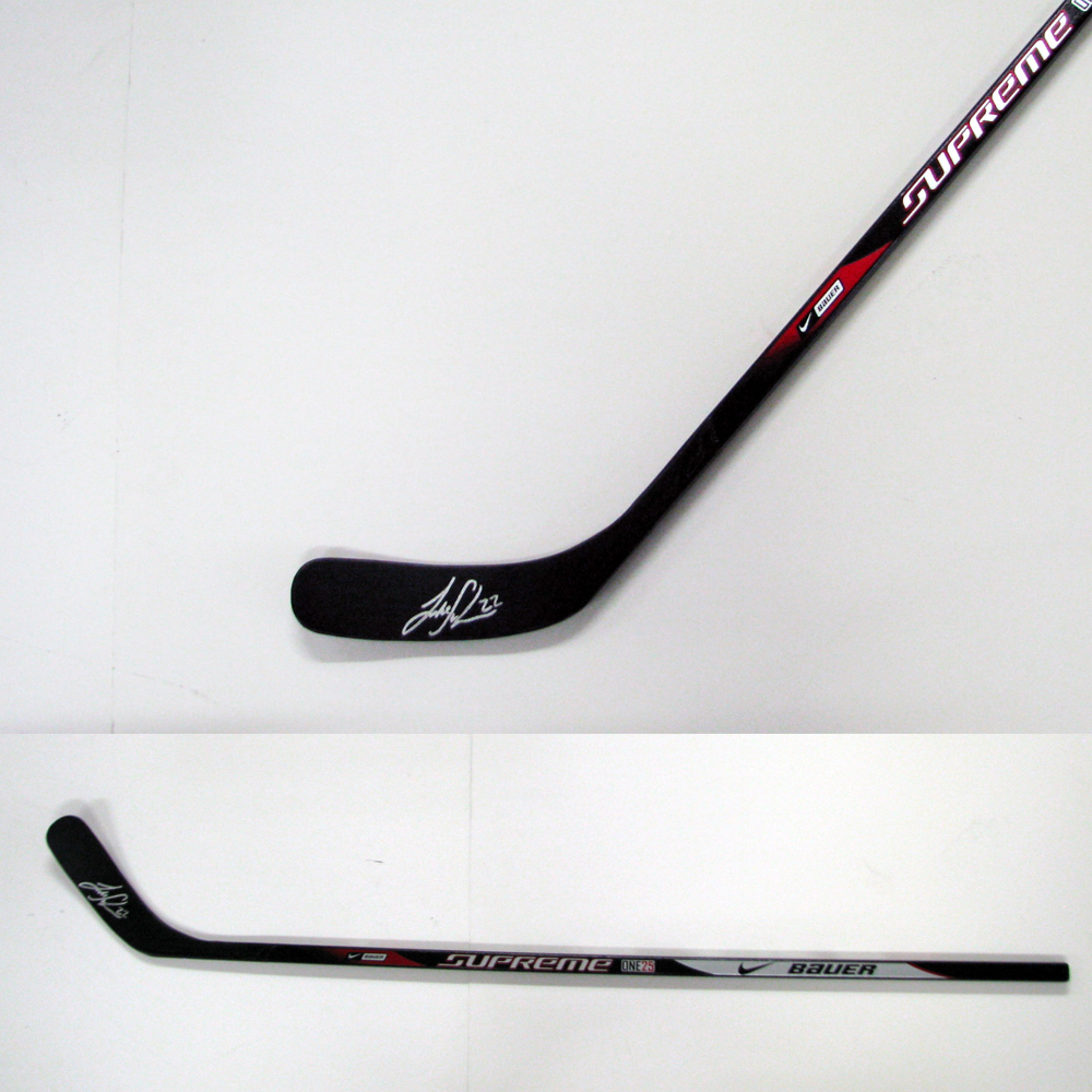 LUKE SCHENN Signed Bauer Model Stick - Philadelphia Flyers