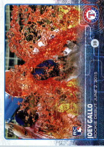 Photo of 2015 Topps Update #US14 Joey Gallo Rookie Card