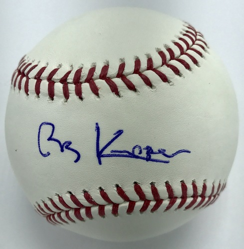 Photo of Bob Knepper Autographed Baseball