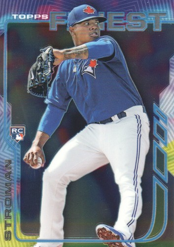 Photo of 2014 Finest #90 Marcus Stroman  Rookie Card