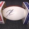 NFL - Raiders Derek Carr signed panel ball