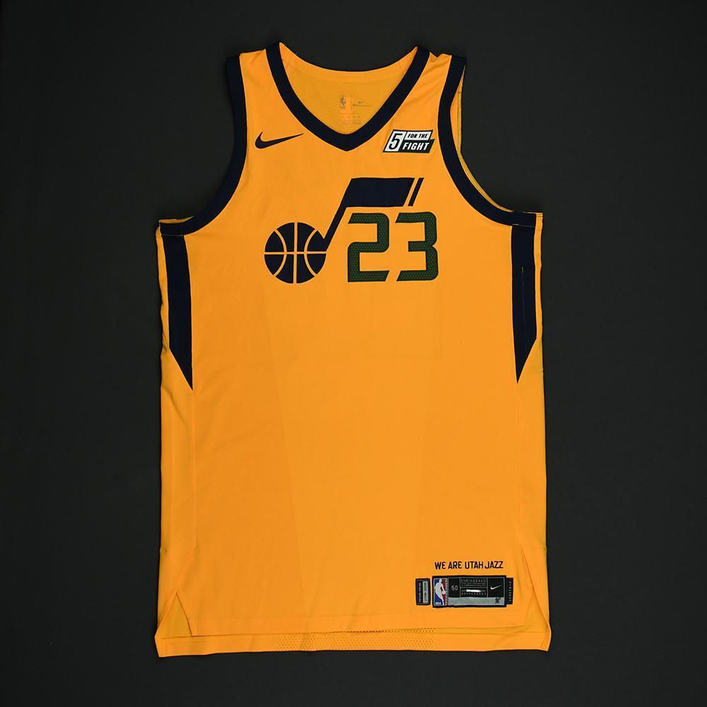 Royce O'Neale - Utah Jazz - Game-Worn 'Statement' Jersey - 2017-18 Season