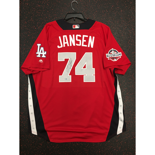 Photo of Kenley Jansen 2018 Major League Baseball Workout Day Autographed Jersey