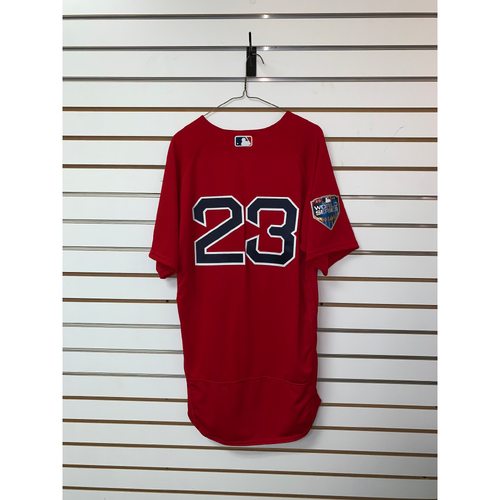 Photo of Blake Swihart Team Issued 2018 World Series Home Alternate Jersey