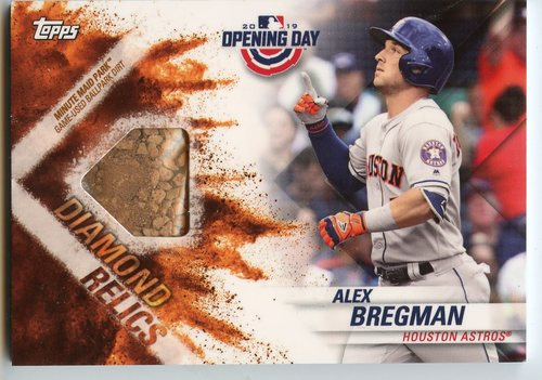 Photo of 2019 Topps Opening Day Diamond Relics #DRABR Alex Bregman