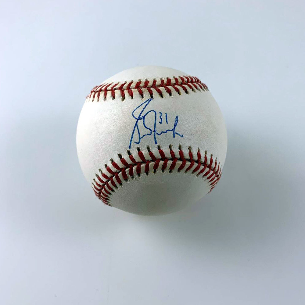 GRANT FUHR Signed Baseball