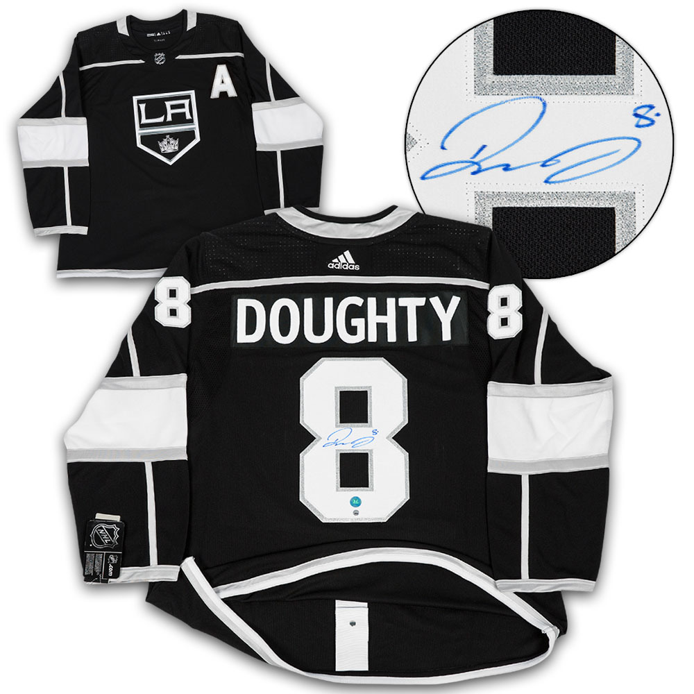 Drew Doughty Los Angeles Kings Autographed Adidas Authentic Hockey Jersey