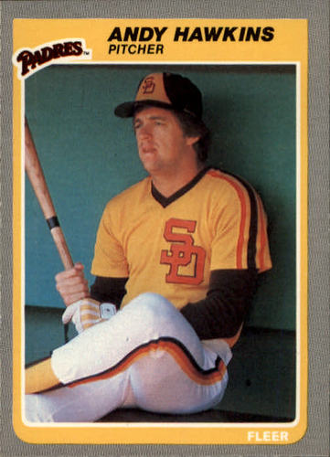 Photo of 1985 Fleer #36 Andy Hawkins