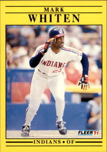 Photo of 1991 Fleer Update #21 Mark Whiten