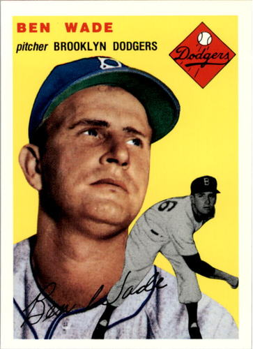 Photo of 1994 Topps Archives '54 #126 Ben Wade