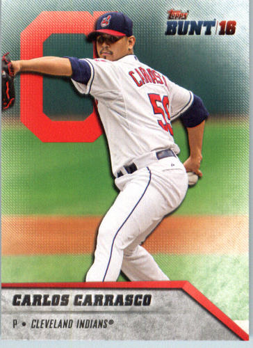 Photo of 2016 Topps Bunt #161 Carlos Carrasco