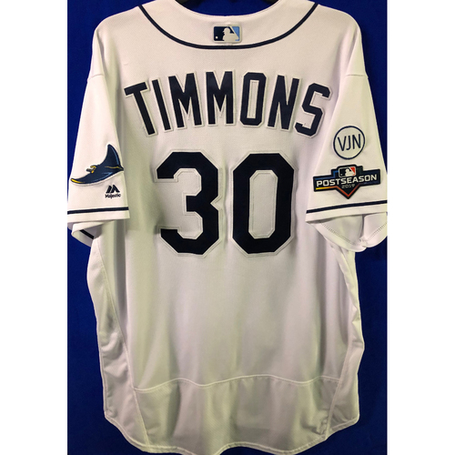 Photo of ALDS Game Used Home Jersey: Ozzie Timmons - October 7 & 8, 2019 v HOU