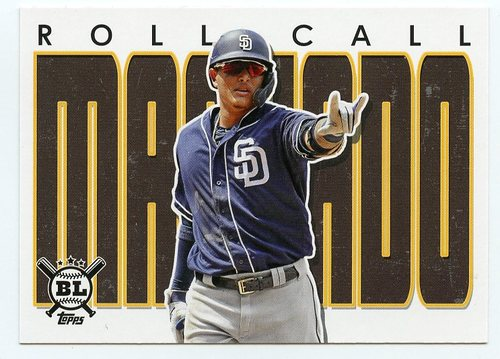 Photo of 2020 Topps Big League Roll Call #RC18 Manny Machado