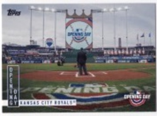 Photo of 2020 Topps Opening Day Opening Day #OD2 Kansas City Royals