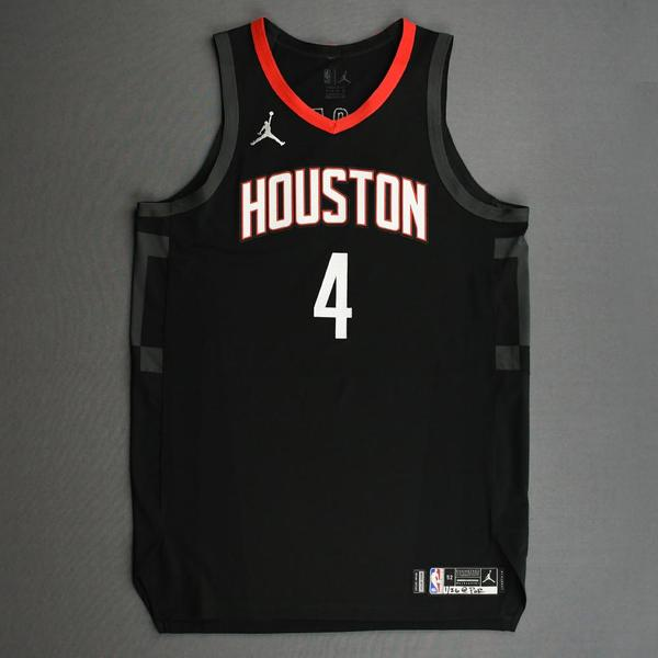 Image of Danuel House Jr. - Houston Rockets - Kia NBA Tip-Off 2020 - Game-Worn Statement Edition Jersey