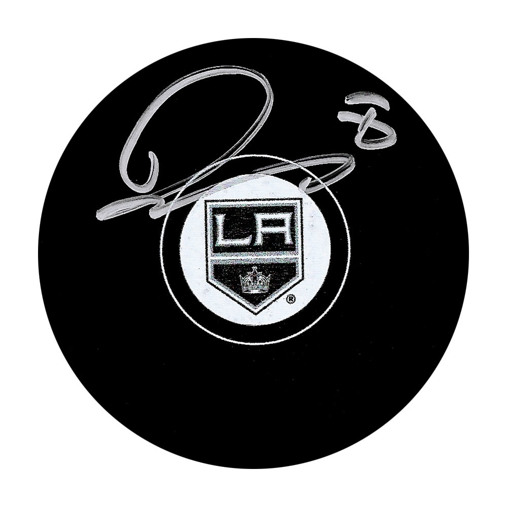 Drew Doughty Autographed Los Angeles Kings Puck