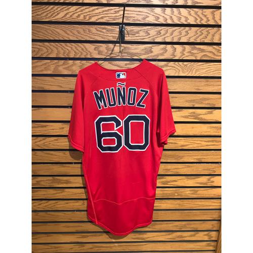 Yairo Munoz Team Issued 2020 Spring Training Jersey
