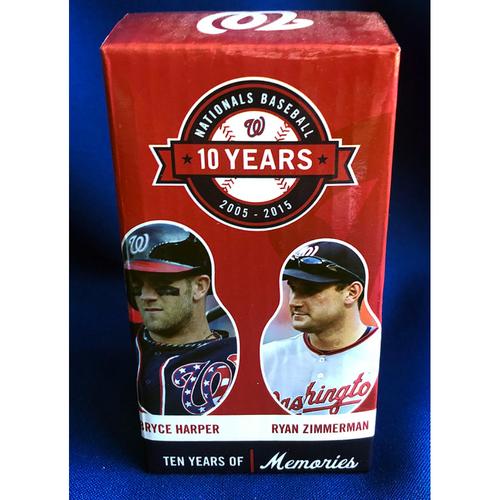 Photo of UMPS CARE AUCTION: Washington Nationals 10-Year Commemorative Nesting Doll