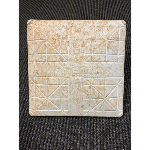 Photo of Game-Used First Base: NLDS Game 4 San Francisco Giants at Los Angeles Dodgers - October 12, 2021 - Innings 5-7