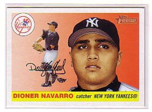 Photo of 2004 Topps Heritage #80 Dioner Navarro RC