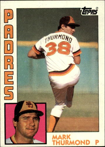 Photo of 1984 Topps #481 Mark Thurmond