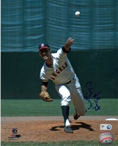 Photo of Clyde Wright Autographed 8x10