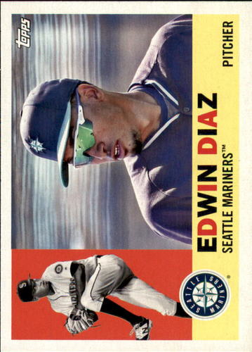 Photo of 2017 Topps Archives #67 Edwin Diaz