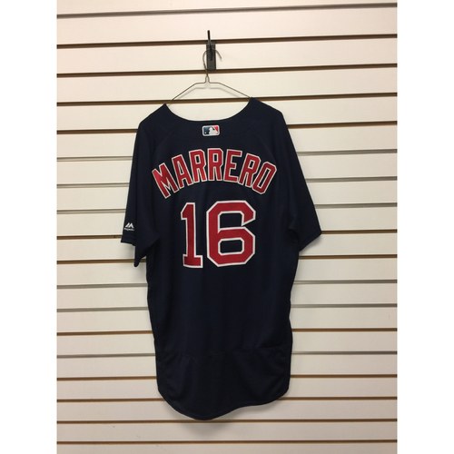 Deven Marrero Game-Used September 23, 2016 Road Alternate Jersey
