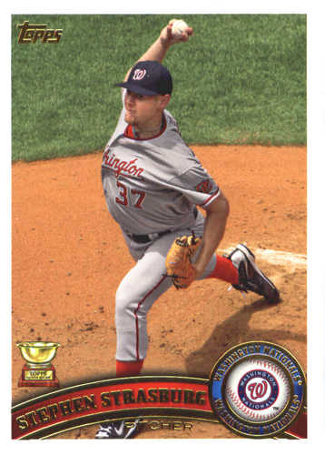 Photo of 2017 Topps Update All Rookie Cup #ARC2 Stephen Strasburg
