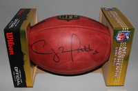 PCC - PACKERS CLAY MATTHEWS SIGNED AUTHENTIC FOOTBALL