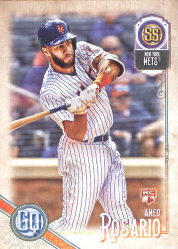 Photo of 2018 Topps Gypsy Queen #22 Amed Rosario RC