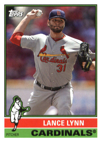 Photo of 2015 Topps Archives #122 Lance Lynn