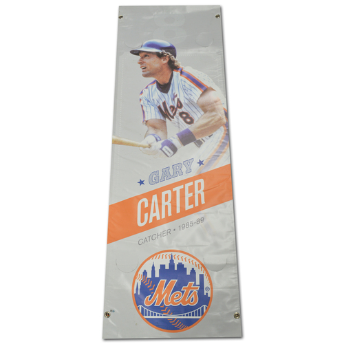 Photo of Gary Carter #8 - Citi Field Banner - 2017 Season