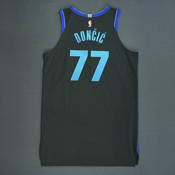 d2b2602de Luka Doncic - Dallas Mavericks - Game-Worn City Edition Jersey ...