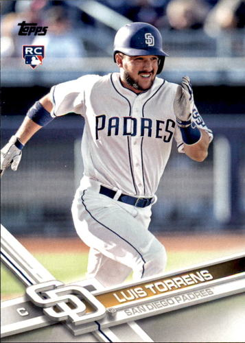 Photo of 2017 Topps Update #US32 Luis Torrens RC