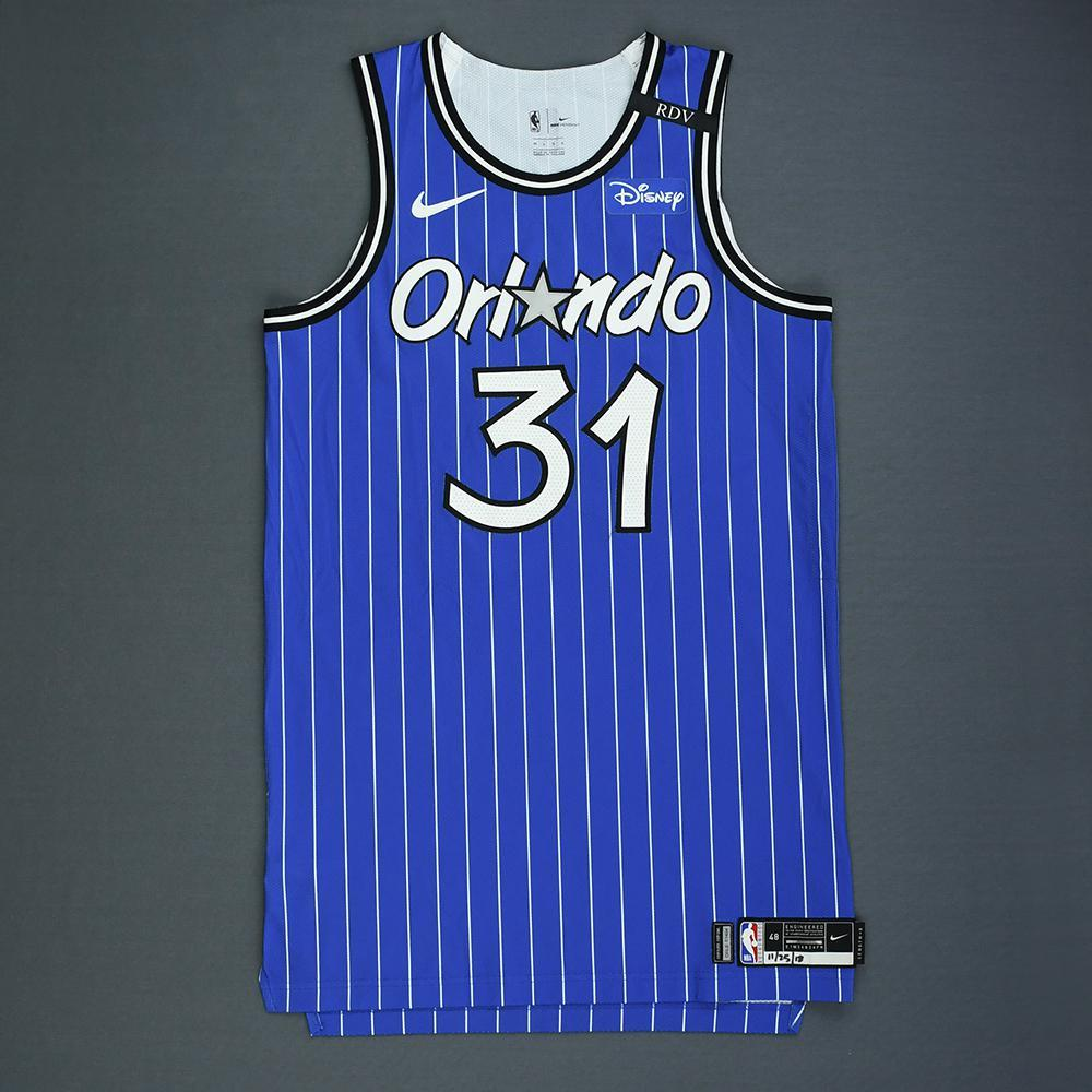 official photos cb543 135d3 Terrence Ross - Orlando Magic - Game-Worn Classic Edition ...