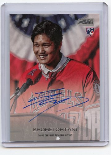 Photo of 2018 Stadium Club Autographs  Shohei Ohtani
